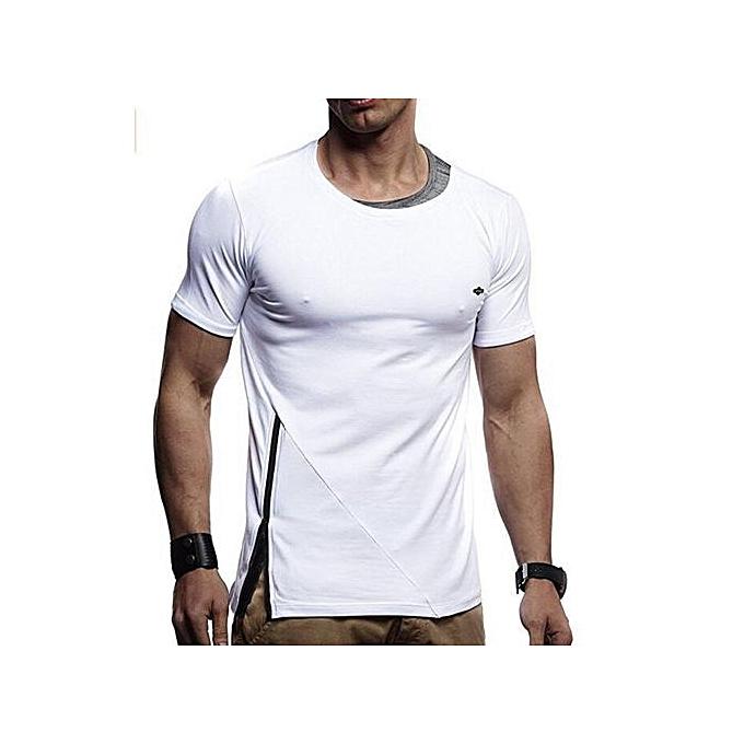 912b62dd716e Buy Generic Stylish Casual Men's Short Sleeve Jogger T -Shirt online ...