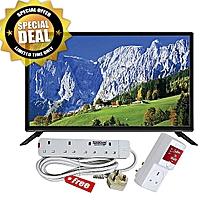 9b9a9c90f47bd Smartec 40 Inch HD LED TV with Inbuilt Digital Decorder (Black) + Tv Power
