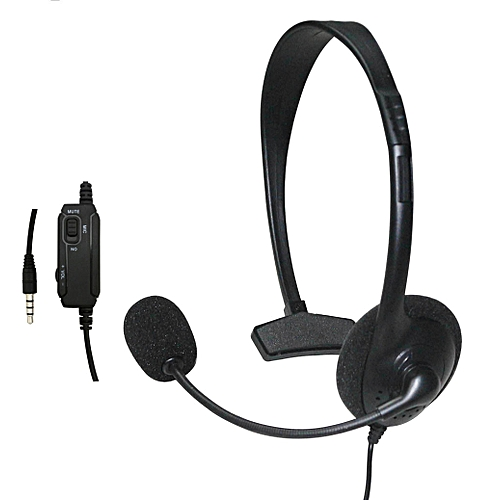 Wired Headset Headphone Earphone Microphone for Sony PlayStation 4 PS4 Game