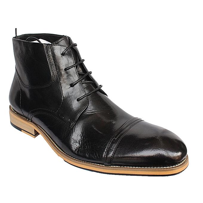 8198bb64e86b Generic Men s Lace up Boots - Black