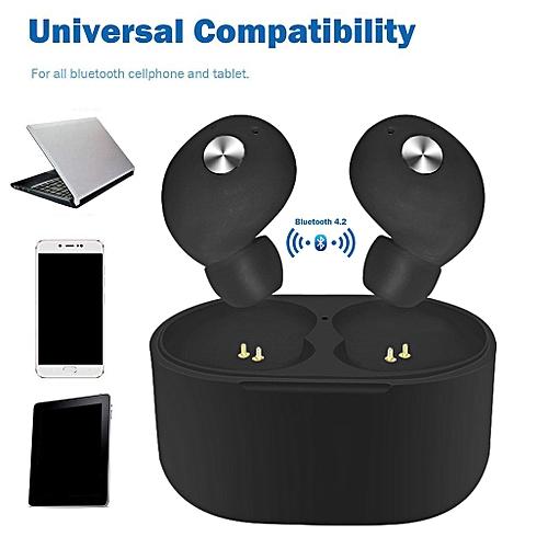 222e4f9db0f Buy Generic Hiamok Mini True Wireless Twins Bluetooth Earbuds In-Ear Stereo  Earphones Sport Headset online | Jumia Uganda