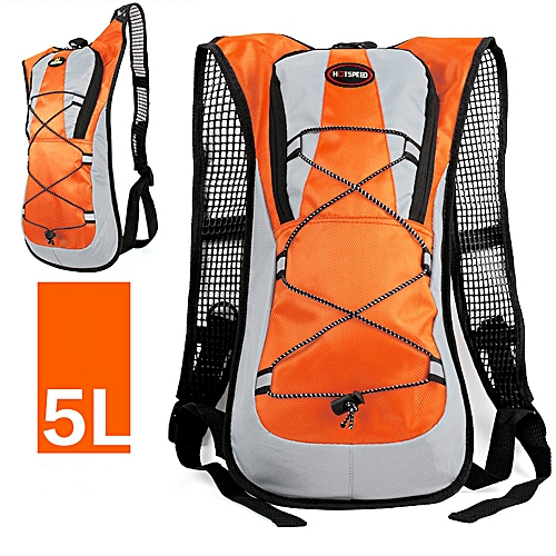 ca4e52cc6210 Oxford Outdoor Sports Waterproof Backpack Travel Camping & Hiking Bag 5L  Orange