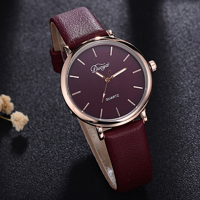 9755fa1a3 Fashion Women Men Couple Watch Rounded Colorful Analog Pointer Quartz Watch