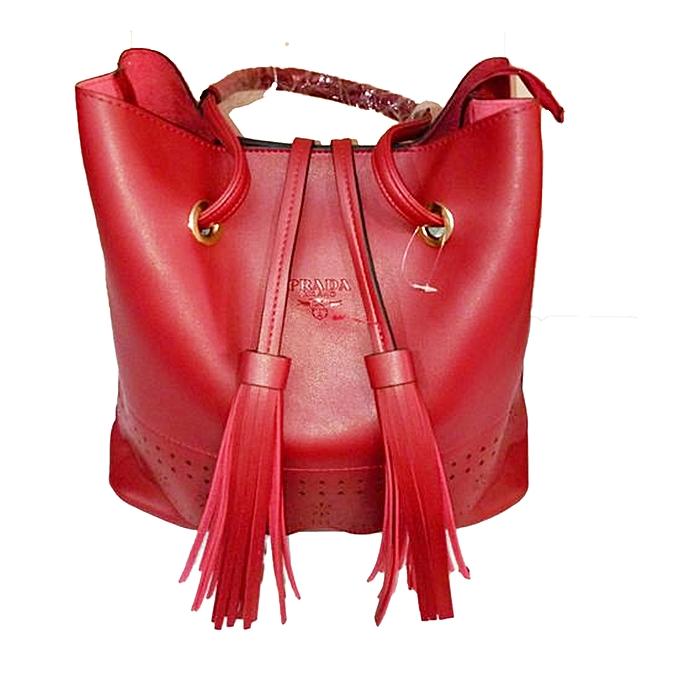 d52edd229cba80 Prada Prada Ladies Hand Bag- 4 in 1 - Maroon | Jumia Uganda