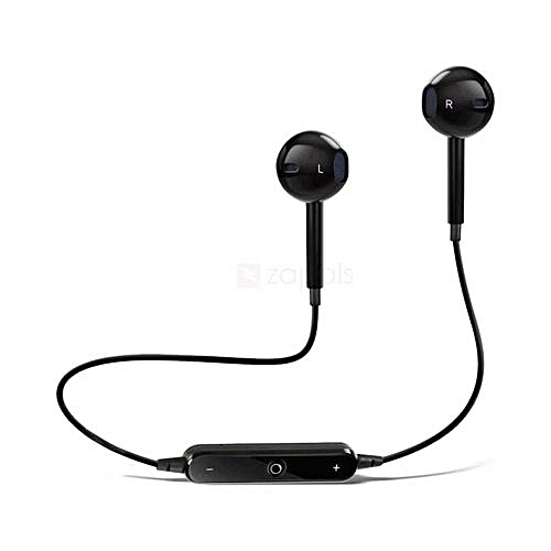 S6 Wireless Sports Headphones Bluetooth 4.1 Headsets Earbuds with Mic Sport Stereo Headset Cancelling Earphone For