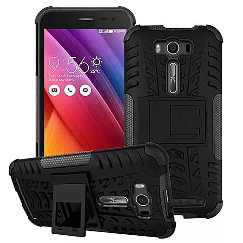 size 40 8c211 81de0 Armor Stand case Shockproof Back Cover For Asus Zenfone 2 Laser ZE500KL 5.0  BK