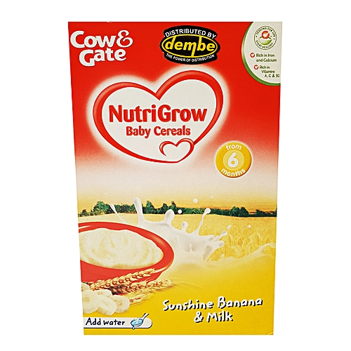 Cow & Gate Baby Cereal Sunshine Banana & Milk – 200gms