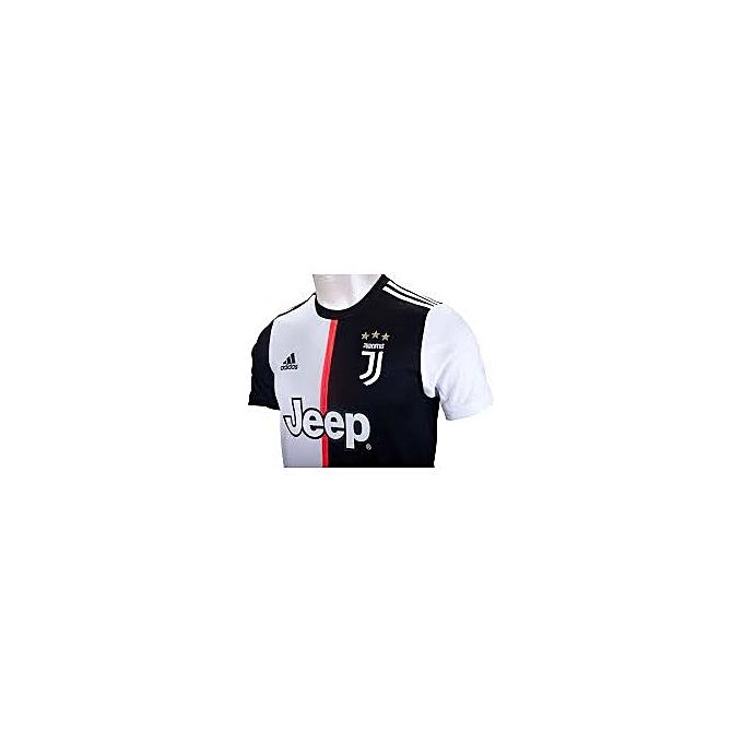 pretty nice dd5cb 4a8cf Replica Juventus FC 2019/20 Short Sleeve Jersey - White,Black