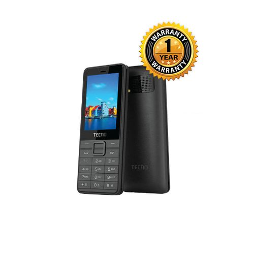 Tecno T401 - Three Sim + Camera And Bluetooth - Black