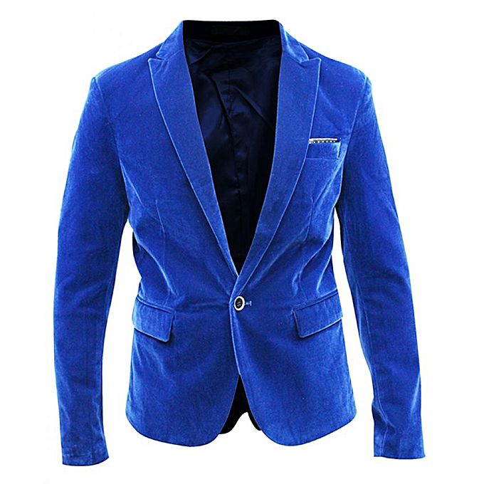 Plain Office And Casual Men's Blazer