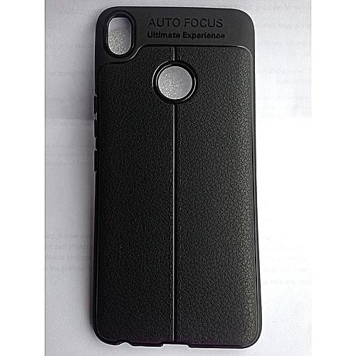 size 40 98934 34810 Tecno Spark 2 (ka7) Auto Focus Back Case - Black