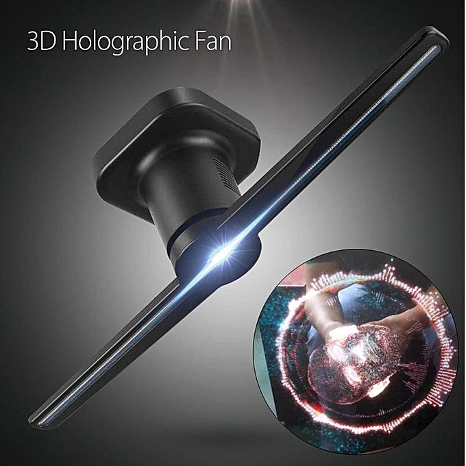 3D Hologram Advertising Display LED Fan Holographic Imaging 3D Naked Eye  LED Fan