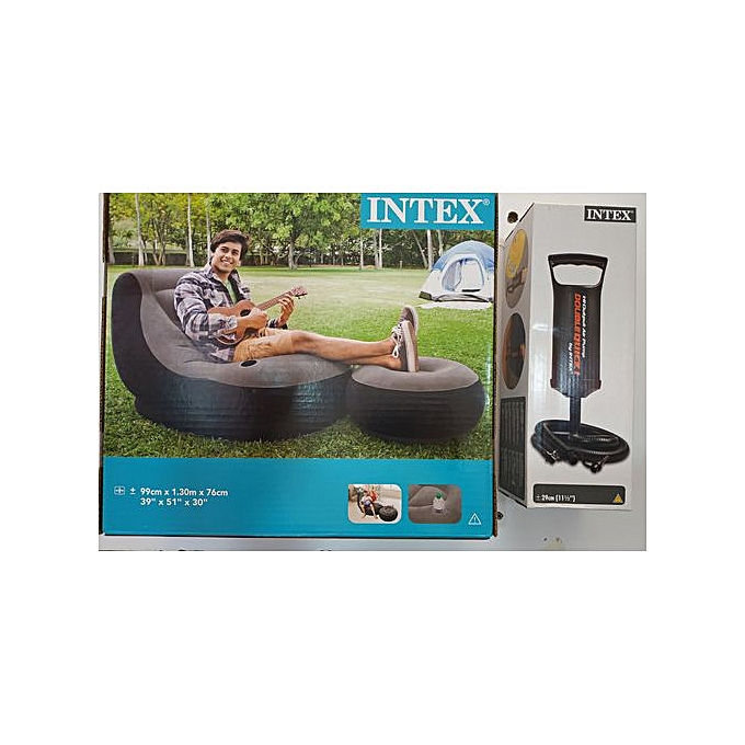 Intex Original Intex Inflatable Sofa Set Bean Bag With