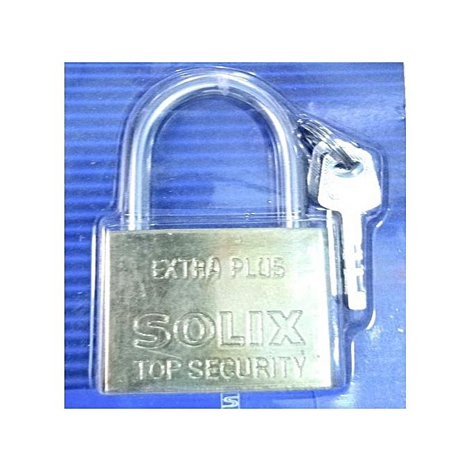 Solex Maximum Security Padlock - Silver