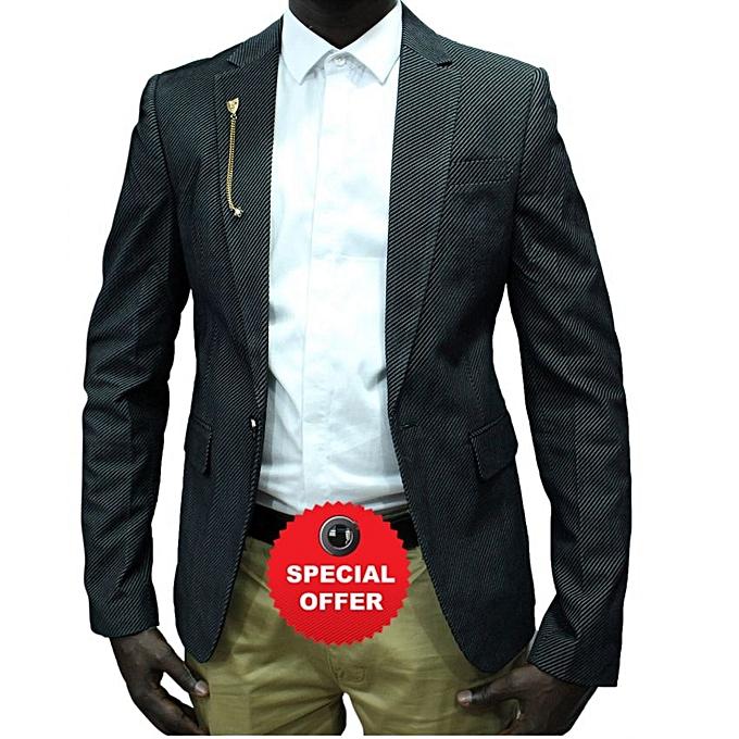 Buy Generic Small Striped Designers Men's Blazers