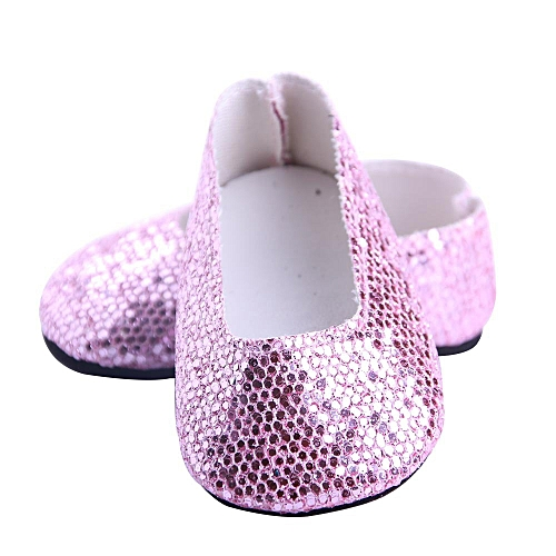 e3c5669cca02d Glitter Doll Shoes Dress Shoe ACCY For 18 inch Our Generation American Girl  Doll