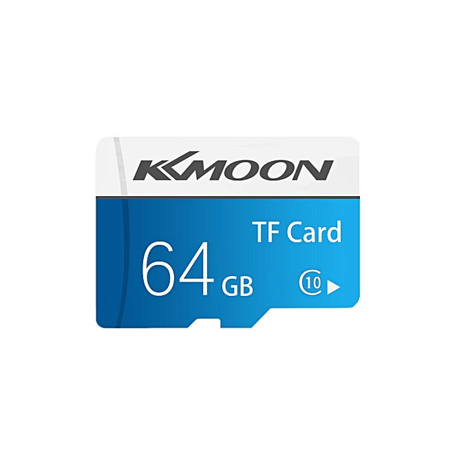 Micro SD Card TF Flash Memory Card Data Storage 64GB Class 10 Fast  Speed(Blue)