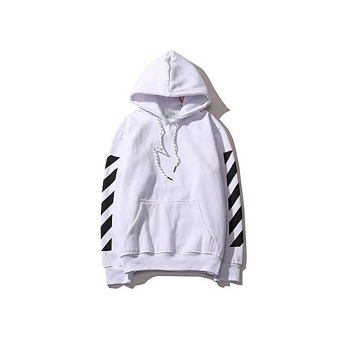 568344da7 Refined Off Hop White Hip Hoodie With The Off-white Tags Exo GD Religious  Fleece