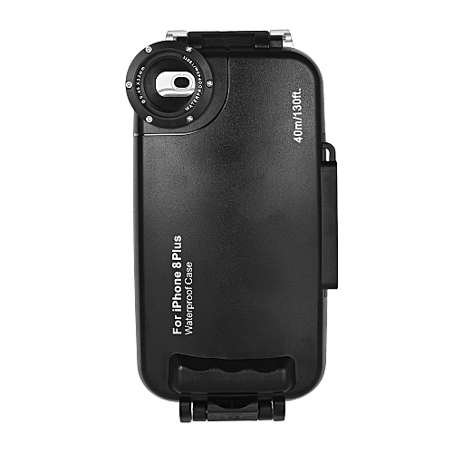 buy online 14e08 5c17a Diving Mobile Phone Waterproof Housing Smartphone Protective Case Cover  Underwater 40M/ 130ft for iPhone 8 Plus