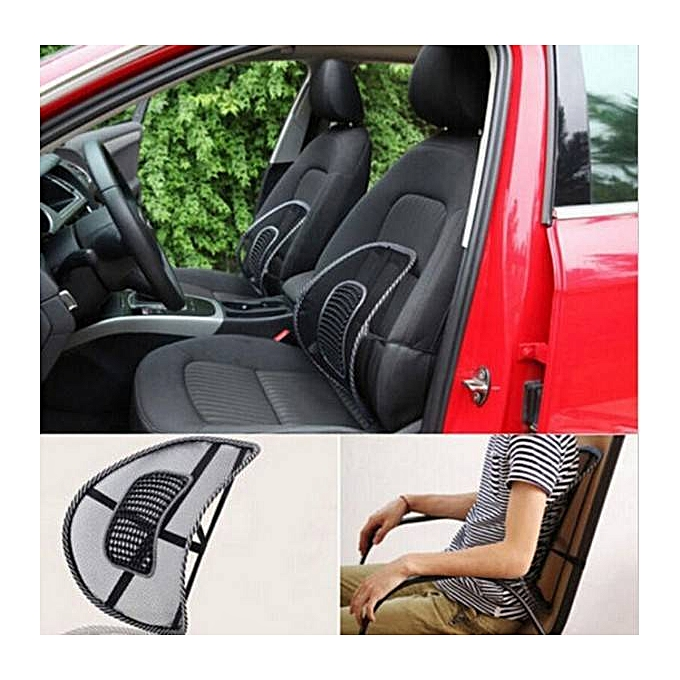 Back Pain Relief Lumbar Lower Back Support Cushion Seat Posture Corrector For Car Office Chair