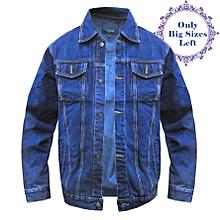bfa0f8706687a Double Pocket Denim Jacket - Blue