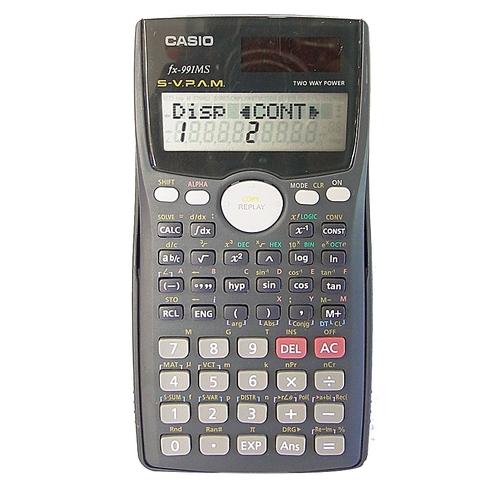 buy casio casio fx 991ms two way power scientific calculator grey rh jumia ug casio fx-991es calculator user manual casio fx-991ms instruction manual