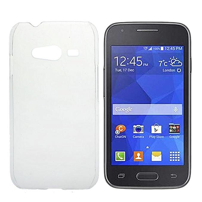 87b25b6d2fc Hiamok Clear Ultra Thin Crystal Hard Case Cover For Samsung Galaxy ACE 4  G313H