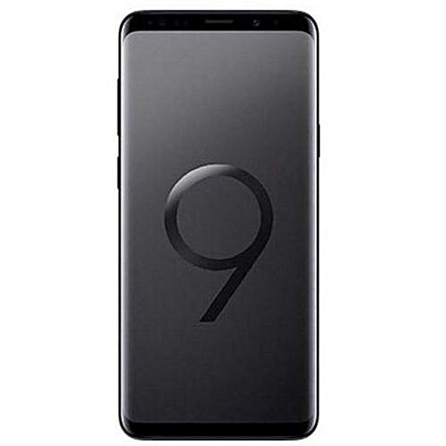 Samsung Galaxy S9 Plus (S9+) 6 2-Inch (6GB, 128GB ROM), 12MP + 8MP Dual SIM  4G Smartphone - Midnight Black