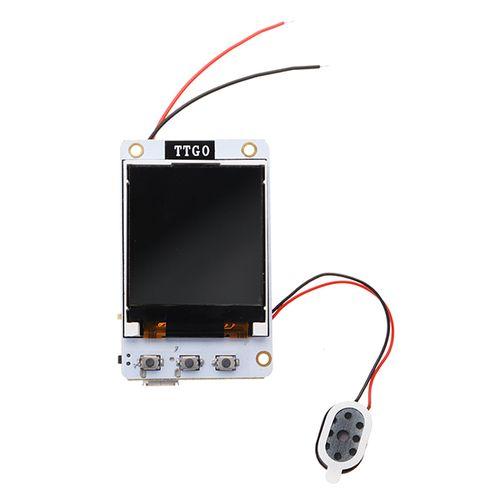Wemos® TTGO TS V1 0 esp32 1 44 TFT MicroSD Card Slot Speakers Bluetooth  Wifi Module