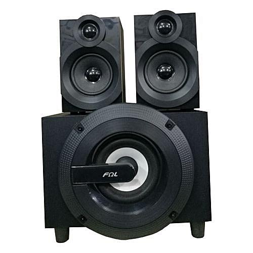 956b00b6a02 FQL FQL FL-C2 FQL Bluetooth Subwoofer Speaker System with ACDC Fm  Radio