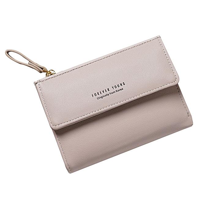 03a9e33fe Women Wallet Small Zipper Multi Card Position Leather Coin Purse Card Holder