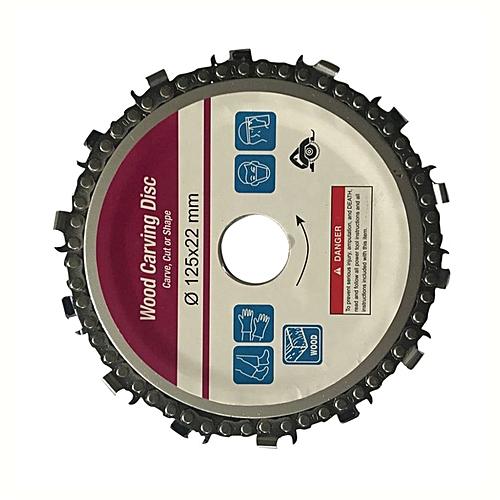 5 Inch Disk Grinder 22mm Arbor 14 Teeth Wood Sculpture For 125mm Angle  Grinder Sliver