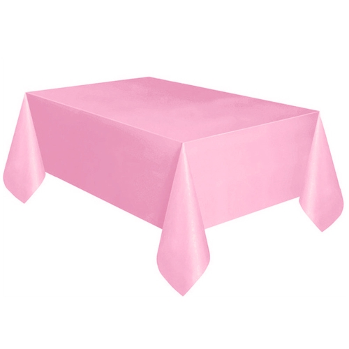 225 & Large Plastic Rectangle Table Cover Cloth Wipe Clean Party Tablecloth Covers PK
