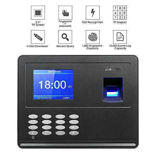 Biometric Fingerprint Attendance Machine 2 8