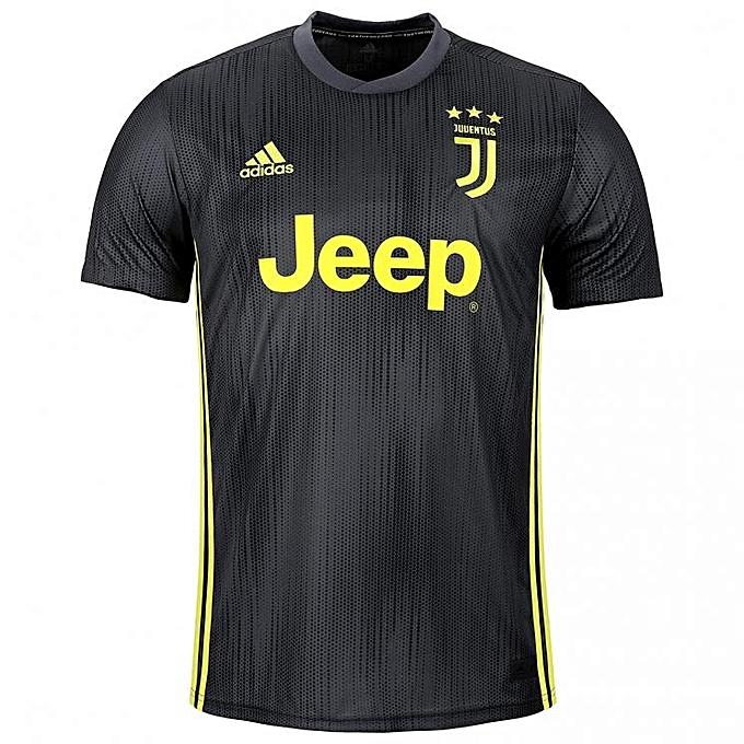 cd10002dd Generic Replica Juventus 2018 19 Away Jersey - Dark Grey