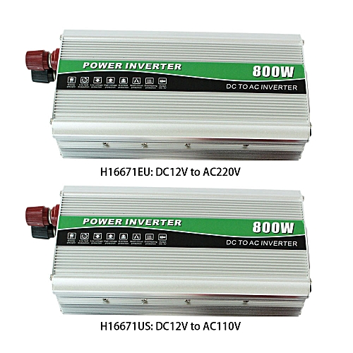Professional 800W DC12V to AC110V AC Household Car Inverter Converter  Modified Sine Wave Charger