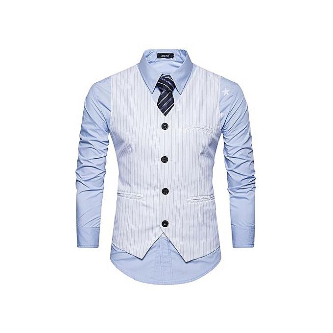 ff016336cb Men Suit Vest Classic V Collar Dress Slim Fit Wedding Waistcoat Mens Formal  Slim Dress Sleeveless