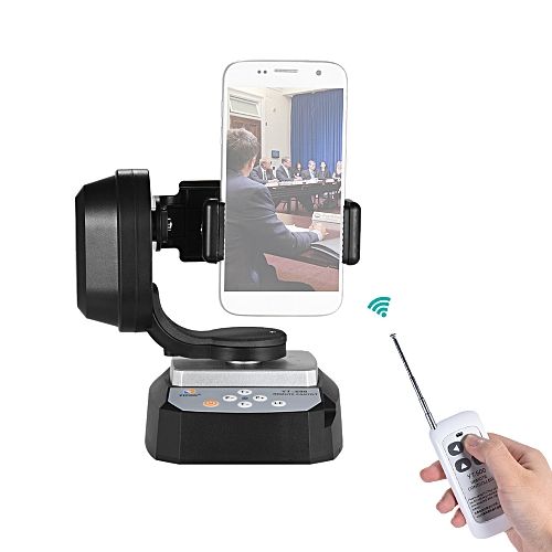 online retailer 251a8 79987 ZIFON YT-500 Remote Control Pan Tilt Automatic Motorized Rotating Video  Tripod Head Max. Load 500g with Phone Holder or iPhone 7/7 Plus/6/ 6  Plus/6s ...