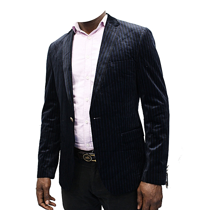Blazers Jumia: New Designer Men's Stripped Blazer - Blue