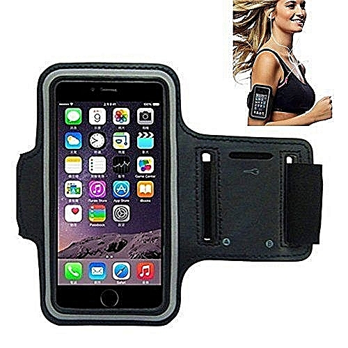 purchase cheap 4b39b 4608f Waterproof Armband with key holder for iPhone 6 plus ,7 plus ,8 plus,Note  5,Note8,Tecno phantom6,8 and Infinix Note 2,3,4,5.Black
