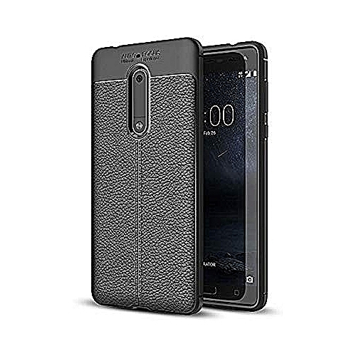 buy popular 814d8 b613d Shockproof Back Cover Case for Nokia 6 - Black