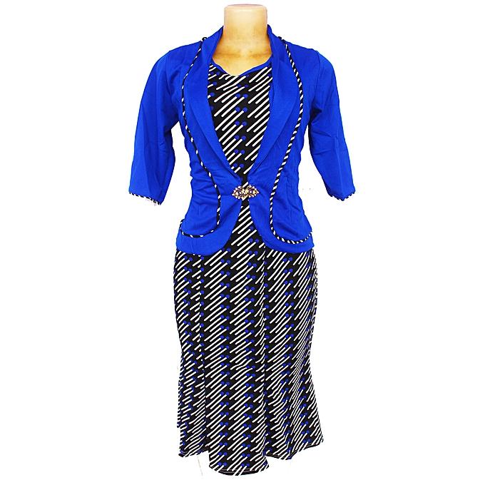 Women s 2 Piece Dress Suit - Blue  c9f8df9e12