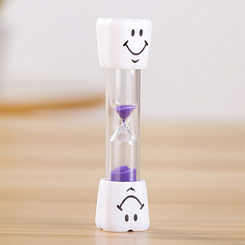 Hiamok Toothbrush Timer Children 3 Minute Sand Smiley Face Teeth Brushing  Timer