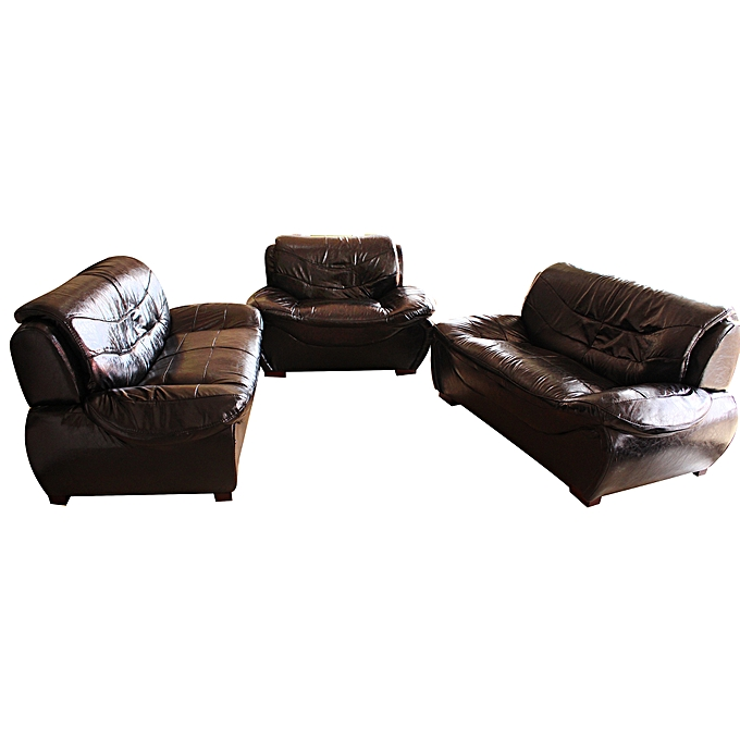 Sofa Sets In Uganda: - KTD 5 Seater Sofa Set (2+2+1) + Foot Rest