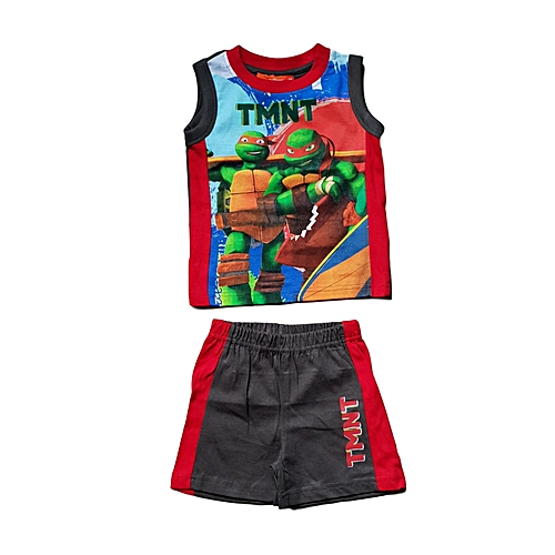 4910c0e1a3eb6 Buy Generic Boys Nickelodeon Teenage Mutant Ninja Turtles Tank Top & Short  Set - Multi-Color online | Jumia Uganda