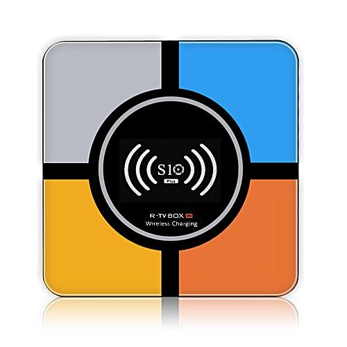 S10 Plus Smart Android 9 0 TV Box RK3328 Quad Core 64 Bit UHD 4K VP9 H 265  4GB / 32GB 2 4G WiFi HD Media Player