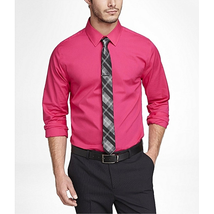 b06b78dfc56129 Buy New Men's Formal Shirts - Pink online | Jumia Uganda