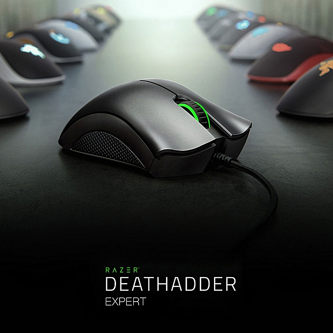 Razer Deathadder 2013 Expert Gaming Mouse USB Wired Computer Mouse 6400 DPI  Black