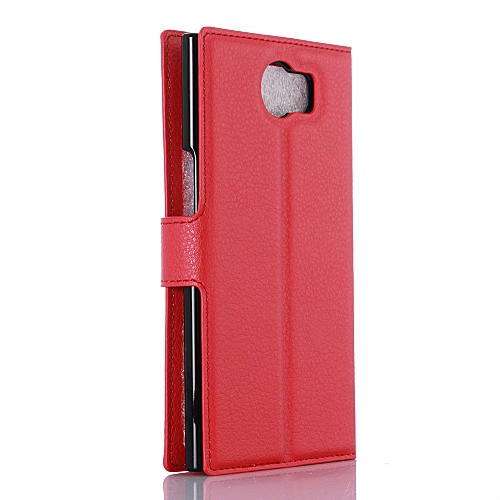 newest adcf8 70355 Hiamok Flip Magnetic Card Wallet Leather Case Stand Cover For BlackBerry  Priv
