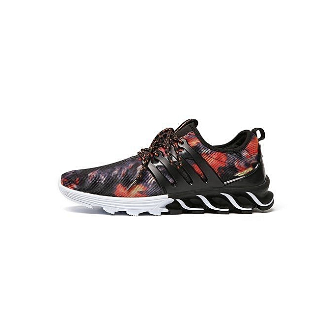 uk availability 0569d 06a4b Mesh Running Shoes For Men Sneakers Outdoor Breathable Comfortable Athletic  Flat Shoes Women Sports Shoes-black02